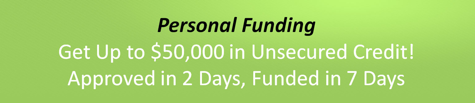 Personal and Business Funding