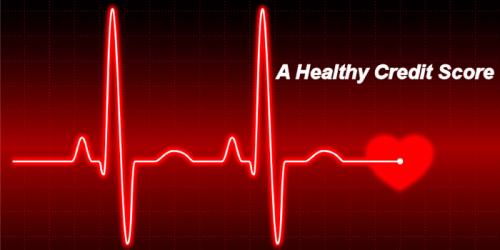 healthy credit score