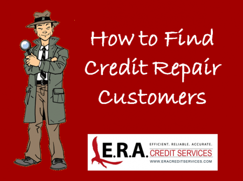 find credit repair customers