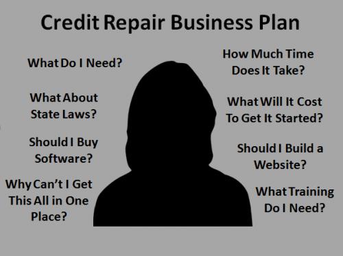 credit repair business plan