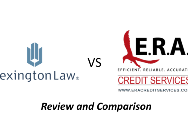 Lexington Law Review – Comparison with ERA Credit Services