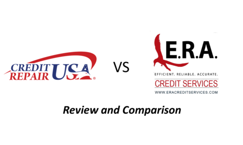 Credit Repair USA Review<br>Comparison with ERA Credit Services