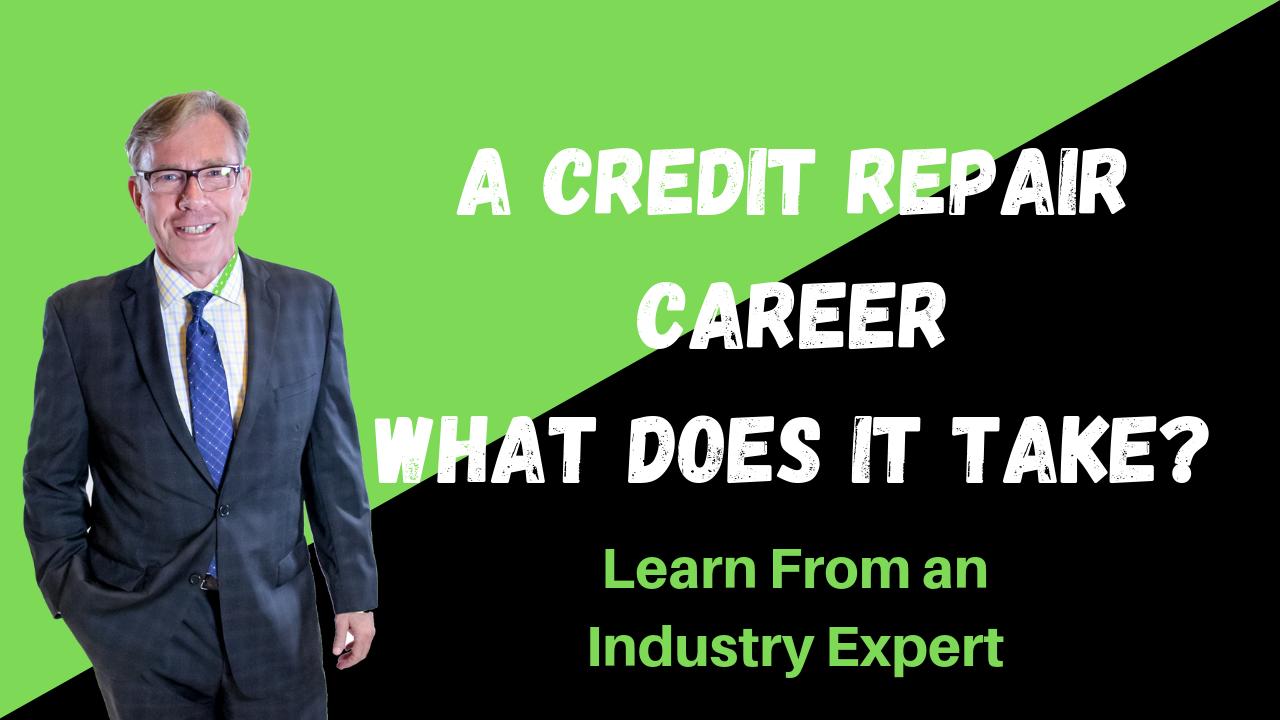 credit repair career