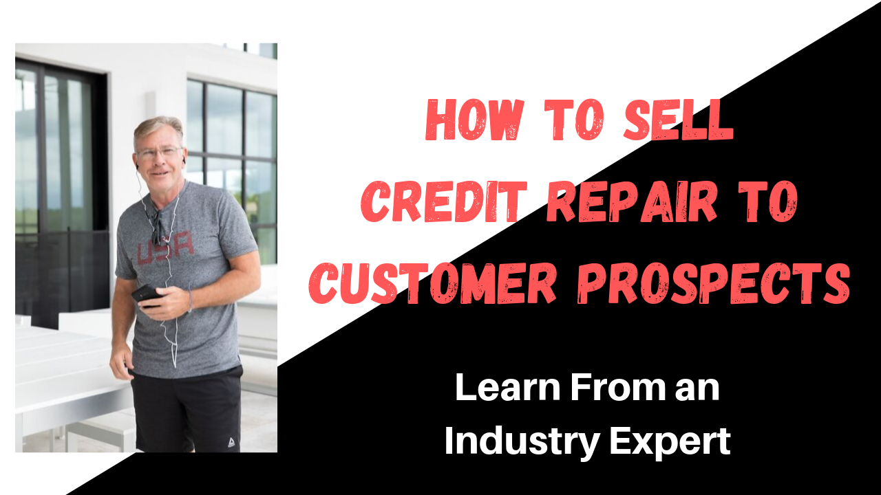 how to sell credit repair