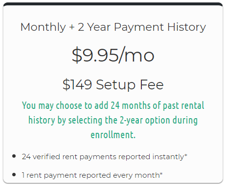 Build Credit by Paying Rent 24 months
