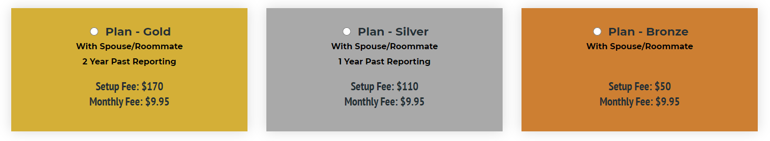 Rent reporting for a couple or roommates