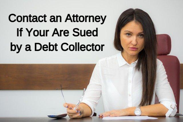 can a debt collector sue you